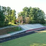 East Surry High School Bleachers, Pilot Mountain, NC
